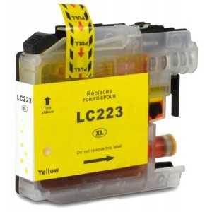 kompatibilní s Brother LC-223 Y yellow cartridge žlutá inkoustová náplň pro tiskárnu Brother MFC-J4625DW