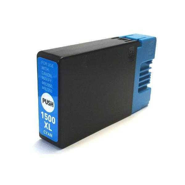 kompatibilní s Canon PGI-1500XL c cyan cartridge modrá azurová inkoustová náplň pro tiskárnu Canon Maxify MB 2755