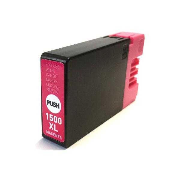 kompatibilní s Canon PGI-1500XL m magenta cartridge purpurová červená inkoustová náplň pro tiskárnu Canon Maxify MB 2755