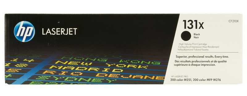 originální toner HP CF210X (HP 131X) black černý originální velkokapacitní toner pro tiskárnu HP LaserJet Pro 200 M276n
