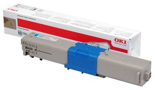 originální toner s OKI 44469706 cyan modrý azurový originální toner pro tiskárnu OKI C510