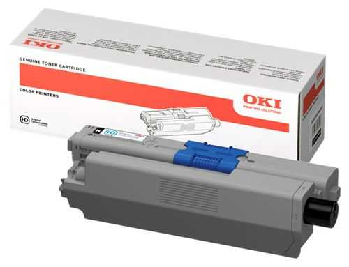 originální toner OKI 44469803 black černý originální toner pro tiskárnu OKI MC560dn