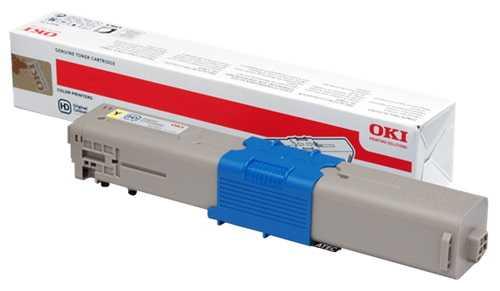 originální toner OKI 44973533 (C301) yellow žlutý originální toner pro tiskárnu OKI C301