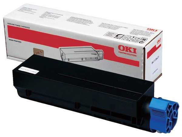 originální toner OKI 44574702 (O411) black černý originální toner pro tiskárnu OKI B411d