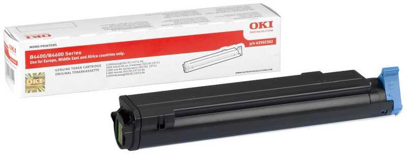 originální toner OKI O4400 (43502302) black černý originální toner pro tiskárnu OKI B4600n
