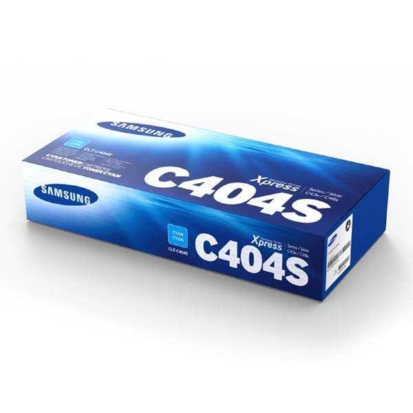 originální toner Samsung CLT-C404S cyan modrý azurový toner do tiskárny Samsung Xpress C480W