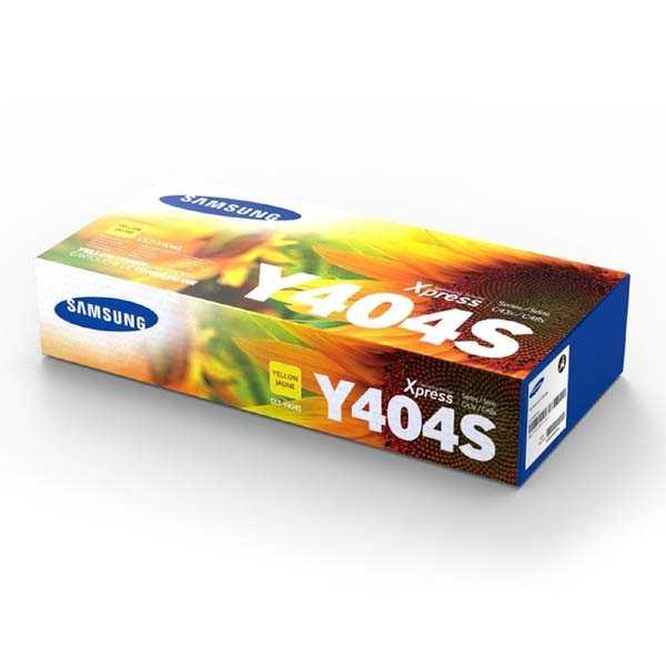 originální toner Samsung CLT-Y404S yellow žlutý toner do tiskárny Samsung SL-C430