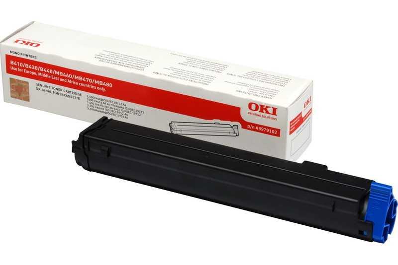 originální toner OKI O410 (43979102) black černý originální toner pro tiskárnu OKI B430dn