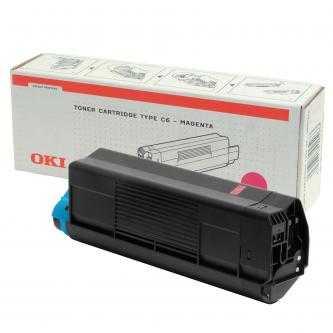 originální toner OKI 42127406 magenta purpurový červený originální toner pro tiskárnu OKI C5300dn