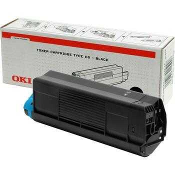 originální toner OKI 42127408 black černý originální toner pro tiskárnu OKI C5200n