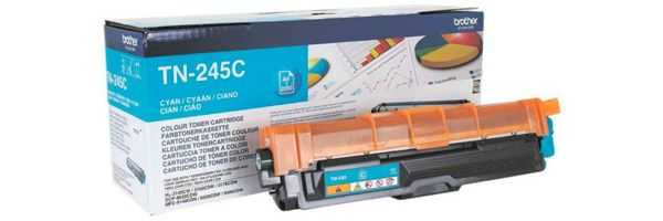 originální toner Brother TN-245 C cyan modrý azurový originální toner pro tiskárnu Brother HL-3150CDW