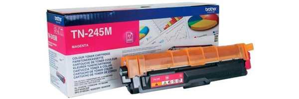 originální toner Brother TN-245 M magenta purpurový originální toner pro tiskárnu Brother HL-3150CDW