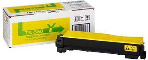 originální toner Kyocera TK-560y 1T02HNAEU0 yellow žlutý originální toner pro tiskárnu Kyocera FS-C5350DN