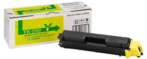 originální toner Kyocera TK-590y 0T2KVANL yellow žlutý originální toner pro tiskárnu Kyocera FS-C2626MFP