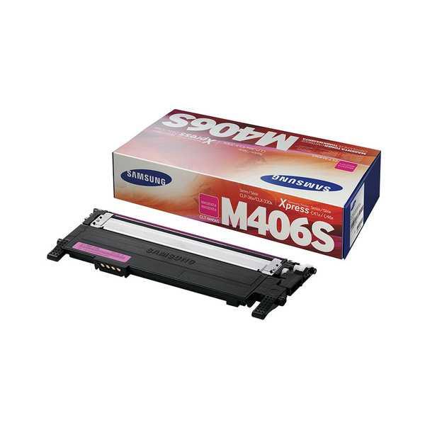 originální toner Samsung CLT-M406S magenta purpurový originální toner pro tiskárnu Samsung CLX-3305FW