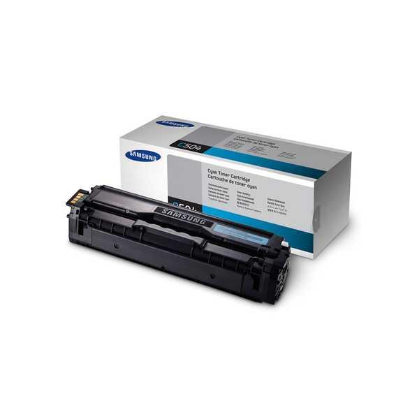 originální toner Samsung CLT-C504S cyan modrý originální azurový toner pro tiskárnu Samsung Xpress C1860FW