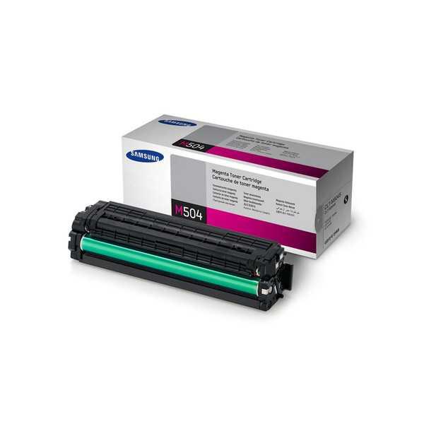 originální toner Samsung CLT-M504S magenta purpurový originální toner pro tiskárnu Samsung SL-C1860FW