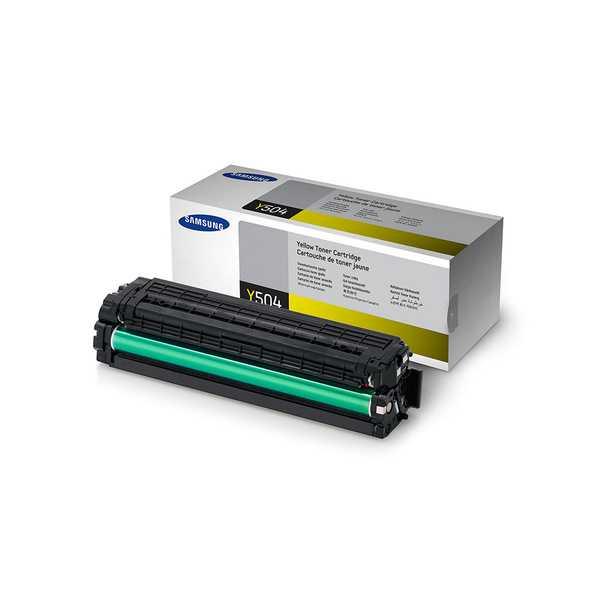 originální toner Samsung CLT-Y504S yellow žlutý originální toner pro tiskárnu Samsung SL-C1860FW