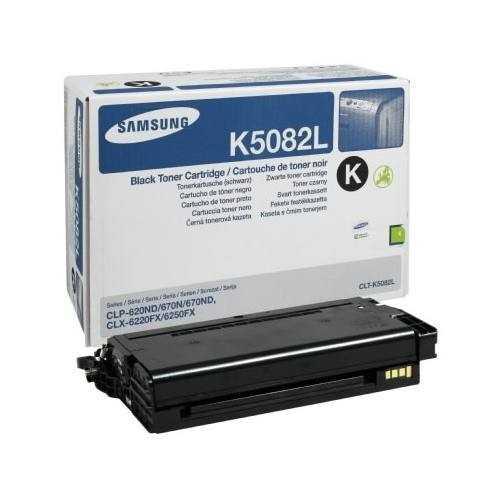 originální toner Samsung CLT-K5082L black černý originální toner pro tiskárnu Samsung CLX-6220