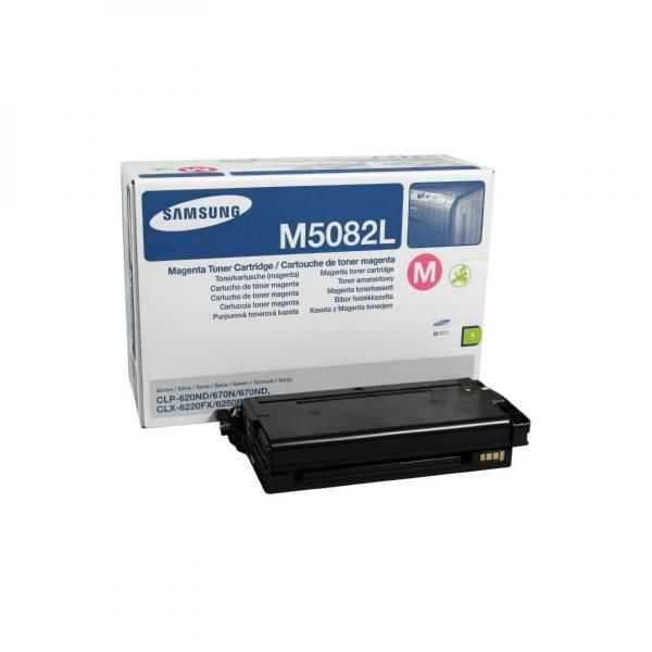 originální toner Samsung CLT-M5082L magenta purpurový originální toner pro tiskárnu Samsung CLX-6220