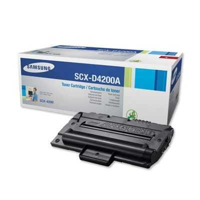 originální toner Samsung SCX-D4200A black černý originální toner pro tiskárnu Samsung SCX-4200