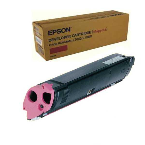 originální toner Epson S050098 magenta purpurový červený originální toner C900 C1900 pro tiskárny Epson AcuLaser C1900PS