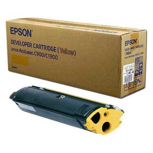 originální toner Epson S050097 yellow žlutý originální toner C900 C1900 pro tiskárny Epson AcuLaser C1900PS
