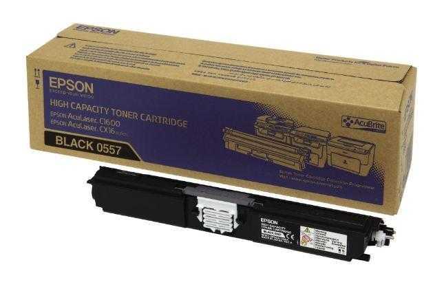 originální toner Epson C16xx C13S050557 black černý originální toner pro tiskárnu Epson AcuLaser C1600