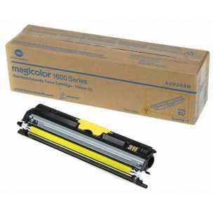 originální toner Konica-Minolta A0V306H (M1600y) yellow žlutý originální toner pro tiskárnu Konica Minolta Magicolor 1650EN