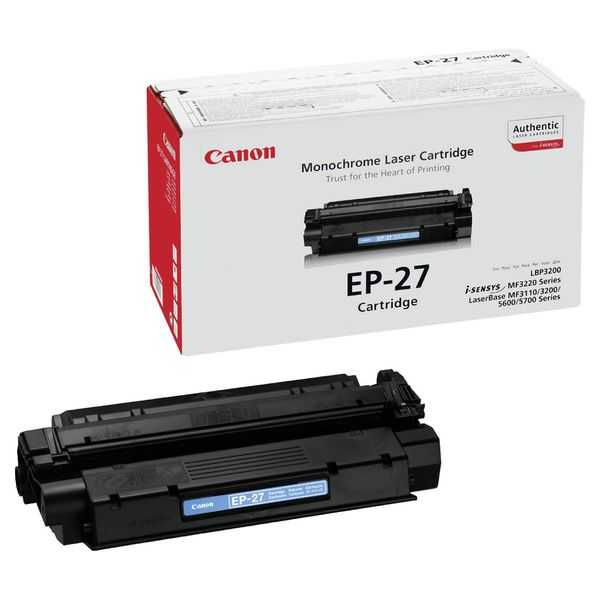 originální toner Canon EP-27 black černý originální toner pro tiskárnu Canon MF5730