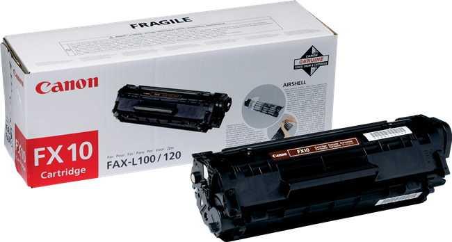 originální toner Canon FX10 black černý originální toner pro tiskárnu Canon i-SENSYS Fax L100