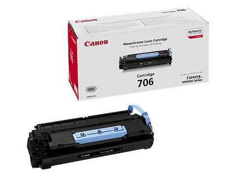 originální toner Canon CRG-706 (5000 stran) black černý originální toner pro tiskárnu Canon MF6550