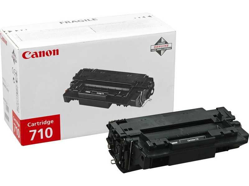 originální toner Canon CRG-710, Type710 black černý originální toner pro tiskárnu Canon LBP3460
