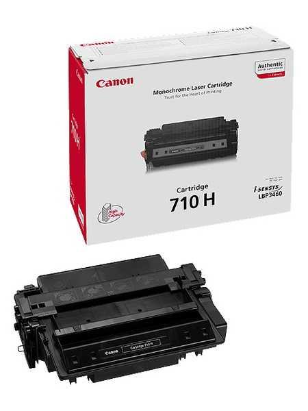 originální toner Canon CRG-710H, Type710-HC (12000 stran) black černý originální toner pro tiskárnu Canon LBP3460