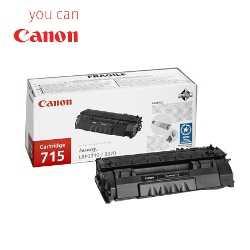 originální toner Canon CRG-715 (3000 stran) černý originální toner pro tiskárnu Canon LBP3370