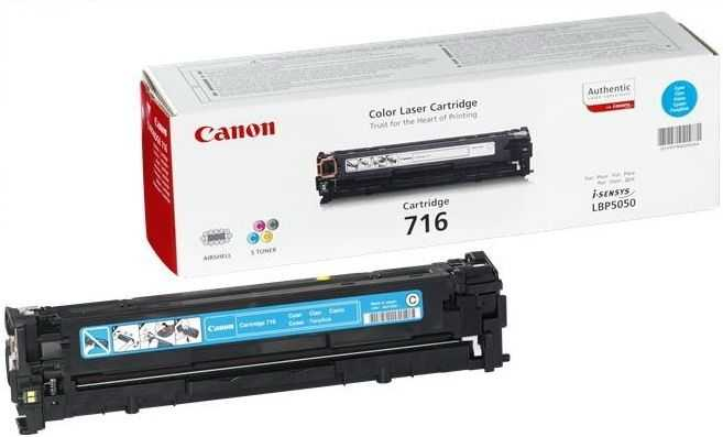 originální toner Canon CRG-716C cyan modrý azurový originální toner pro tiskárnu Canon MF8030