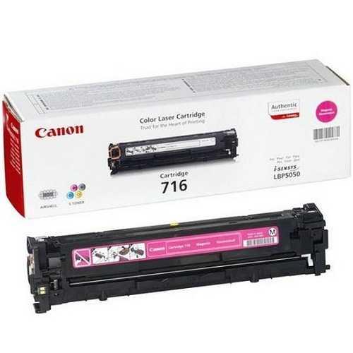 originální toner Canon CRG-716M magenta červený purpurový originální toner pro tiskárnu Canon MF8030