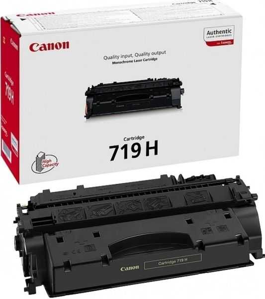 originální toner Canon CRG-719H (6500 stran) black černý originální toner pro tiskárnu Canon LBP6300dn