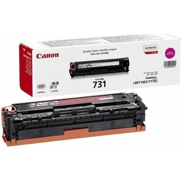 originální toner Canon CRG-731m magenta purpurový červený originální toner pro tiskárnu Canon MF8230cn
