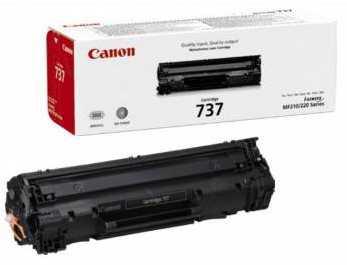 originální toner Canon CRG-737 black černý originální toner pro tiskárnu Canon MF227dw