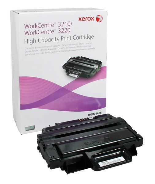 originální toner Xerox 106R01487 - X3210XC - black černý originální toner pro tiskárnu Xerox Workcentre 3220