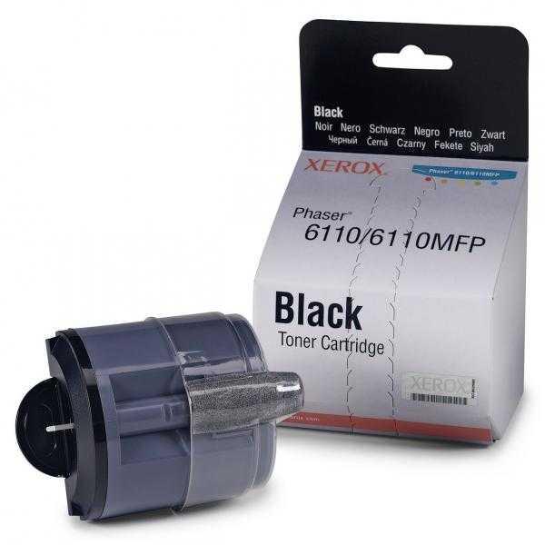 originální toner Xerox 106R01203 - X6110B - black černý originální toner pro tiskárnu Xerox Phaser 6110
