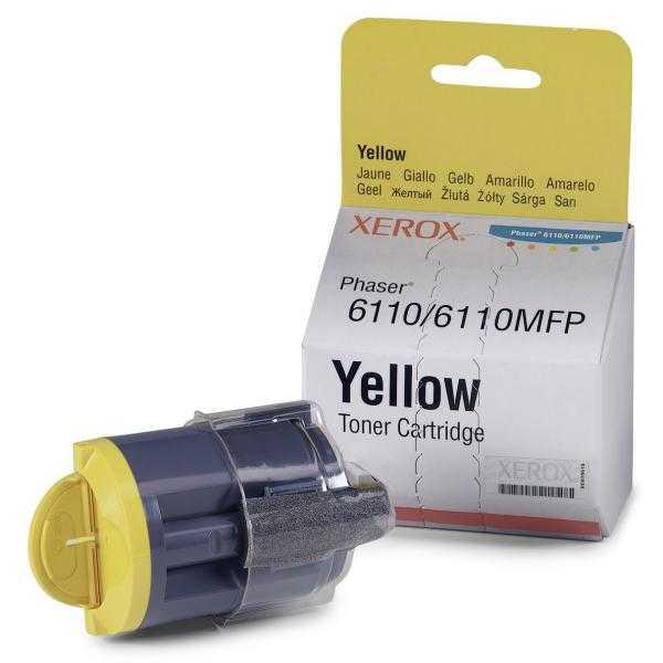 originální toner Xerox 106R01204 - X6110Y - yellow originální toner žlutý pro tiskárnu Xerox Phaser 6110