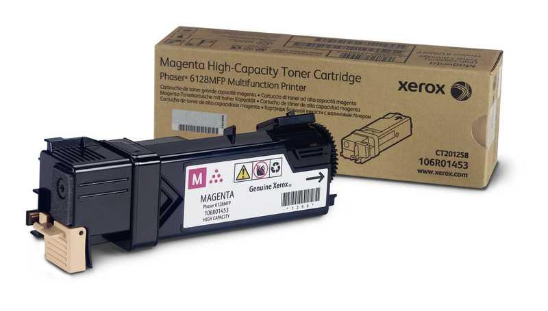 originální toner Xerox 106R01457 - X6128M - magenta originální toner purpurový pro tiskárnu Xerox Phaser 6128 MFP N