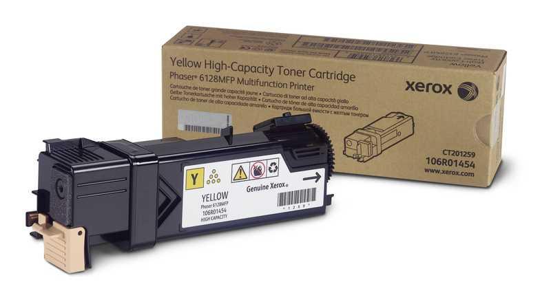 originální toner Xerox 106R01458 - X6128Y - yellow originální toner žlutý pro tiskárnu Xerox Phaser 6128 MFP N