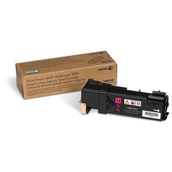 originální toner Xerox 106R01602 - X6500M - magenta originální toner purpurový pro tiskárnu Xerox Phaser 6500N