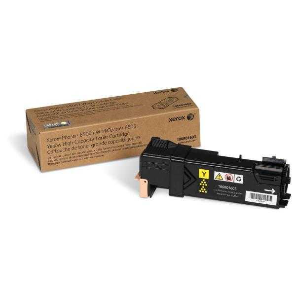 originální toner Xerox 106R01603 - X6500Y - yellow originální toner žlutý pro tiskárnu Xerox WorkCentre 6505