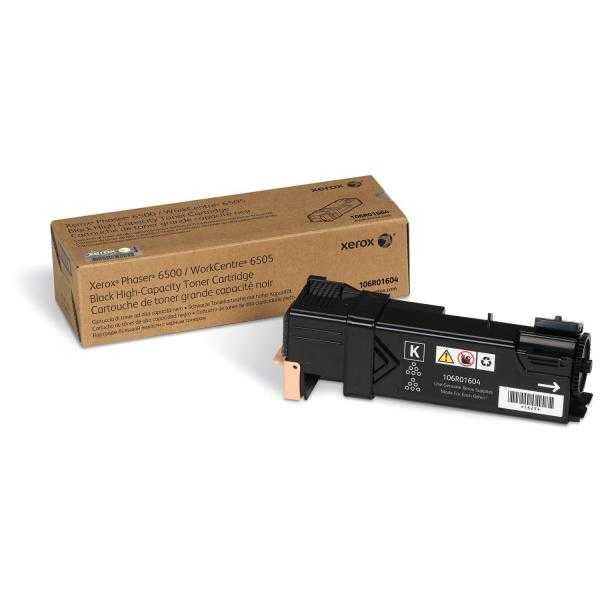 originální toner Xerox 106R01604 - X6500B - black černý originální toner pro tiskárnu Xerox Phaser 6500N