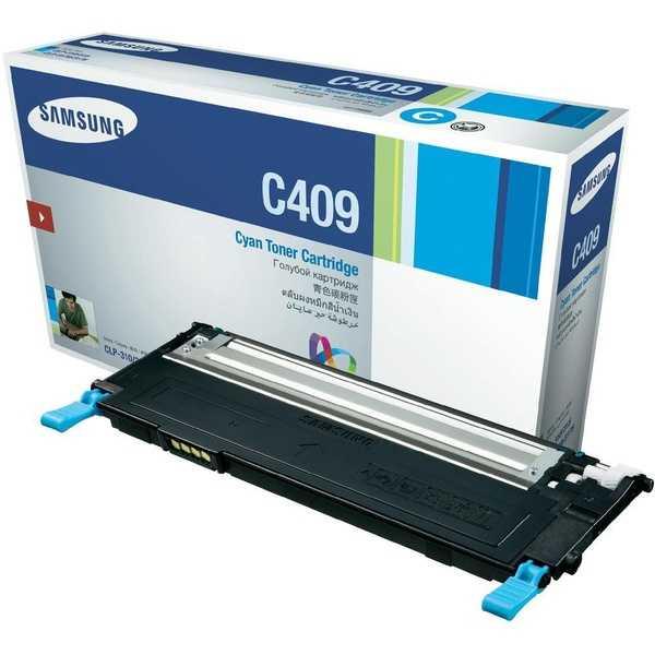 originální toner Samsung CLT-C4092S cyan modrý azurový originální toner pro tiskárnu Samsung CLP-315W