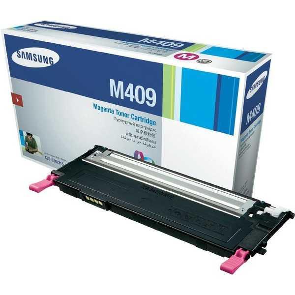originální toner Samsung CLT-M4092S magenta purpurový červený originální toner pro tiskárnu Samsung CLP-315W